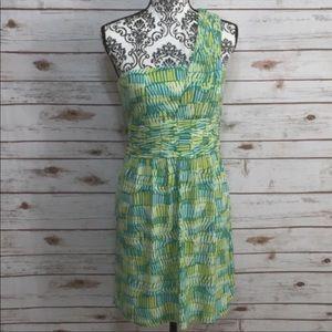 Gianni Bini Bright One Shoulder Dress